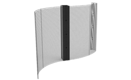 Flexible Transparent Display Screen