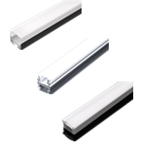 A02 - Small Size Aluminum Profile for LED Strip Lighting in Diversified Applications