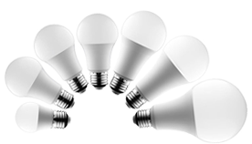 White A-Line LED Light Bulbs (EUROPE&Others)