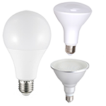 A19/BR/Par LED Bulbs (North America)