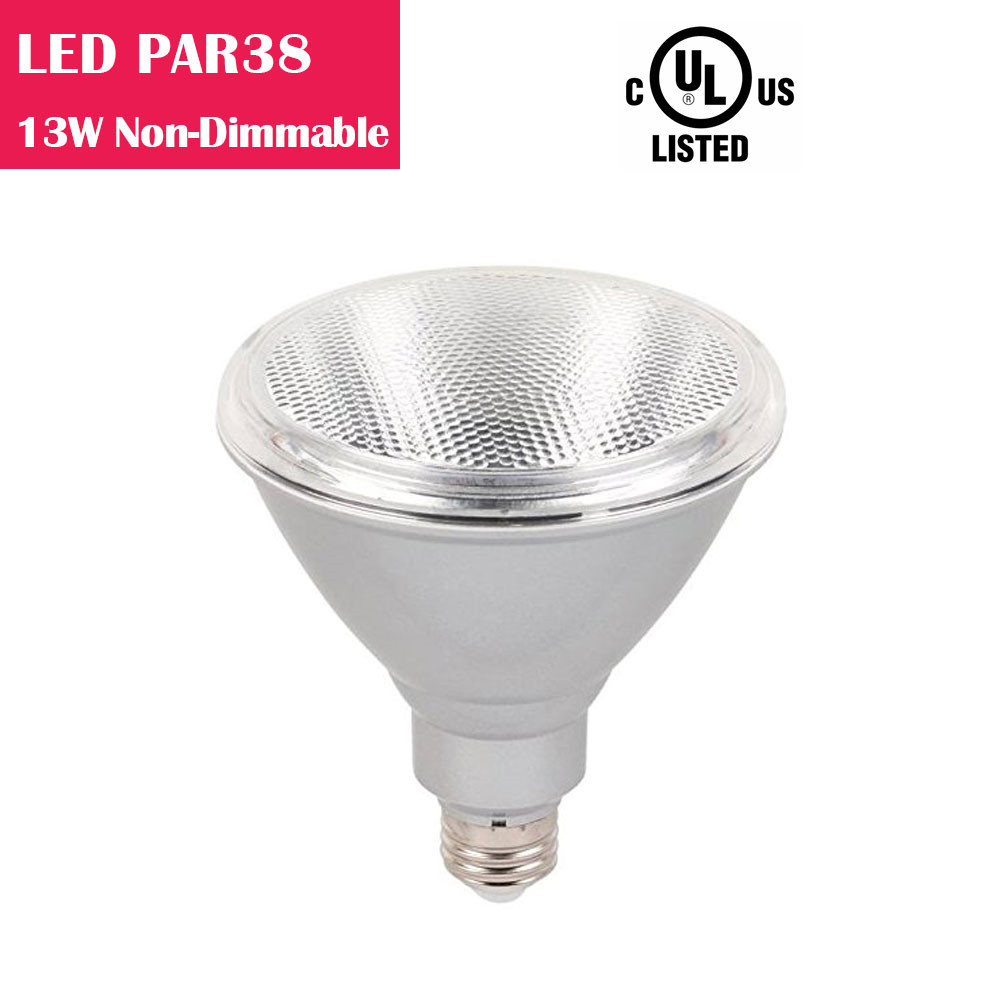 PAR38 LED Bulb 13W 90W-equivalent CRI80 900LM 40° Beam Non-Dimmable