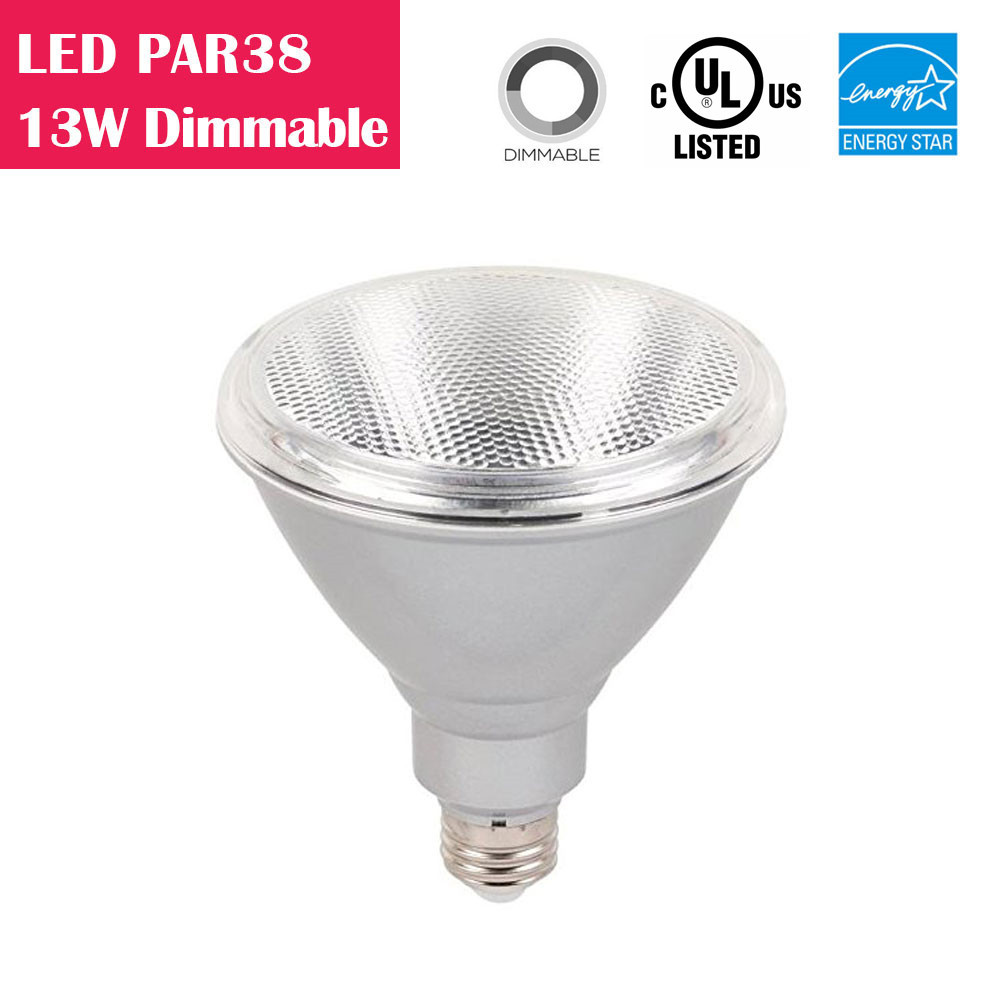 PAR38 LED Bulb 13W 90W-equivalent CRI80 900LM 40° Beam Dimmable