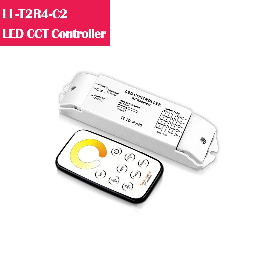Dual White LED Remote Dimmer/Controller for LED Lights  Online