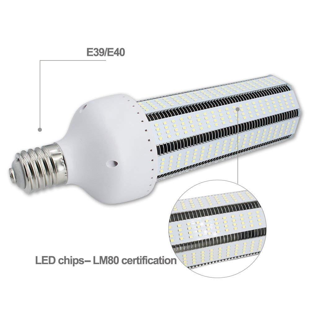 120w Led Corn Light Bulb Large Mogul E39 E40 Base