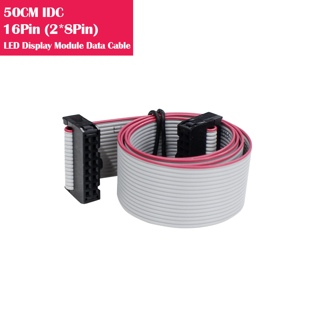 50CM IDC 16Pin(2*8Pin) Data Cable For LED Display Modules