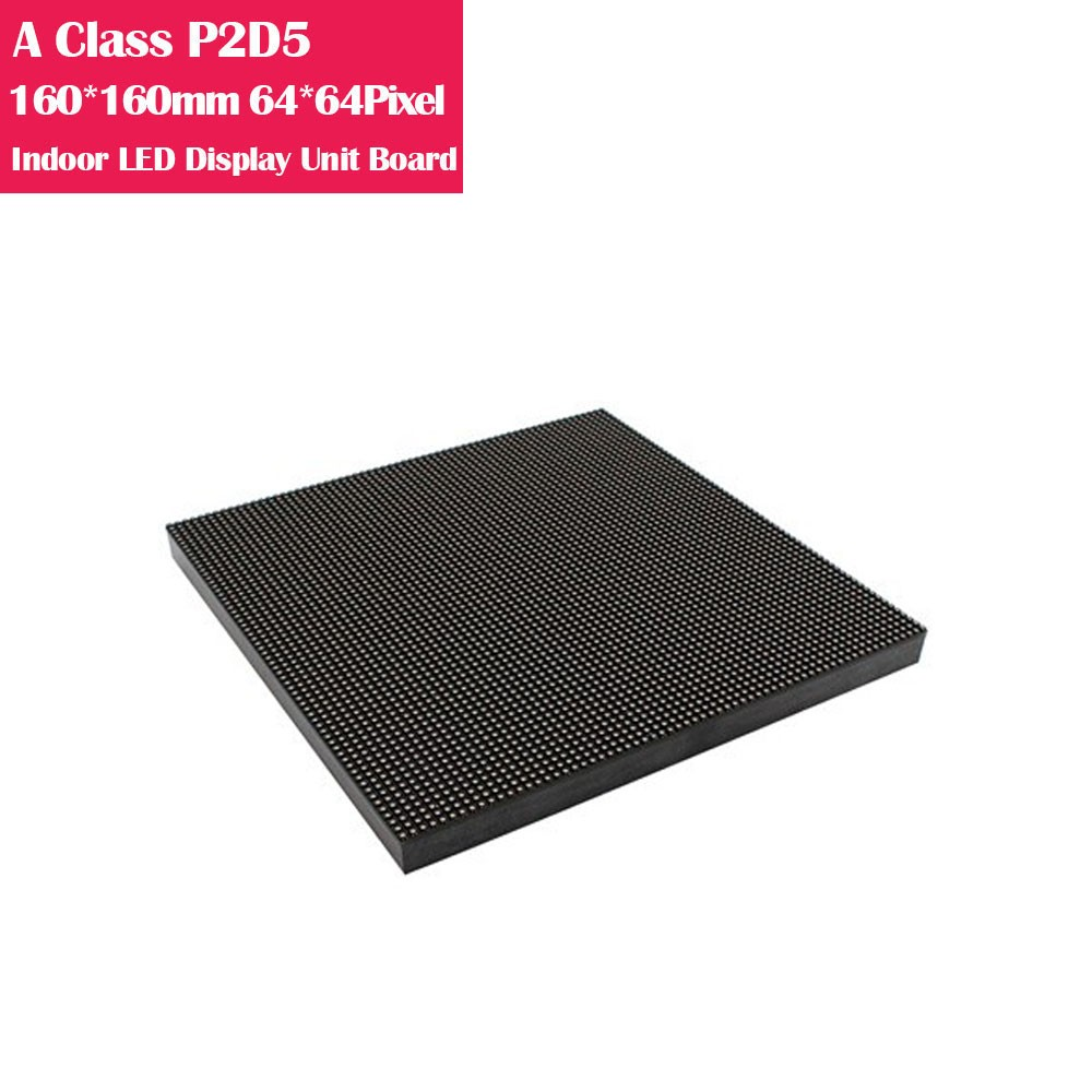 A-Class P2.5 160*160mm High Refresh Version IC mm Indoor LED Display Unit Board