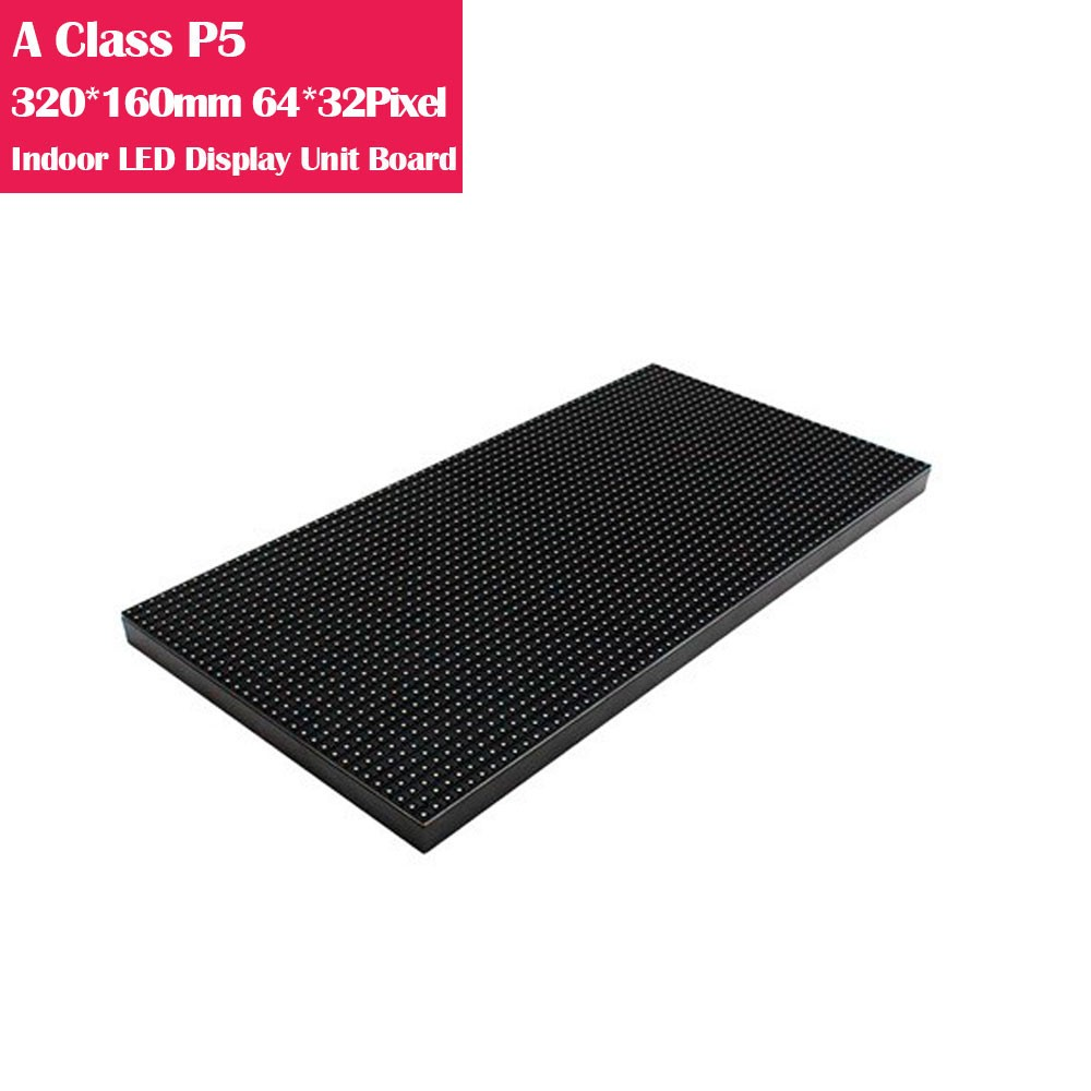 A-Class P5 320*160mm High Refresh Version IC Indoor  LED Display Unit Board
