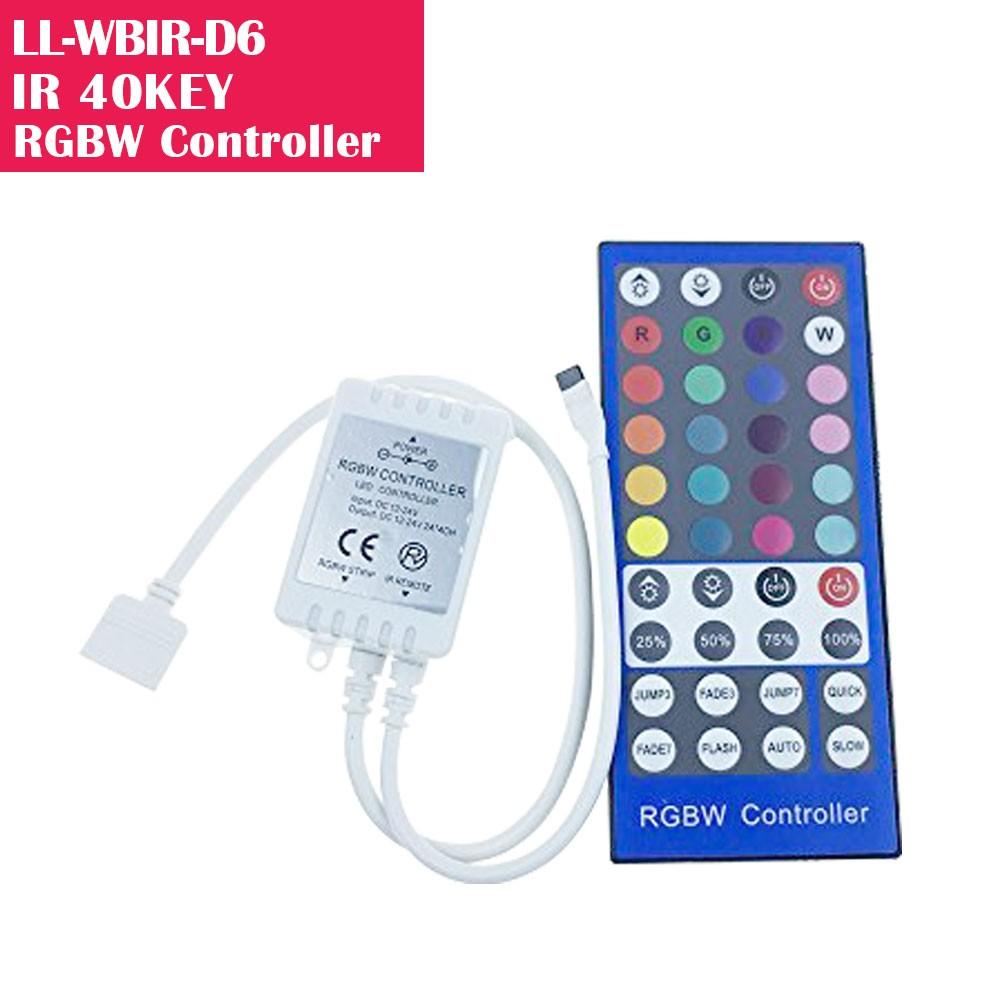 RGBW LED Remote Dimmer/Controller for LED Lights  Online Shopping