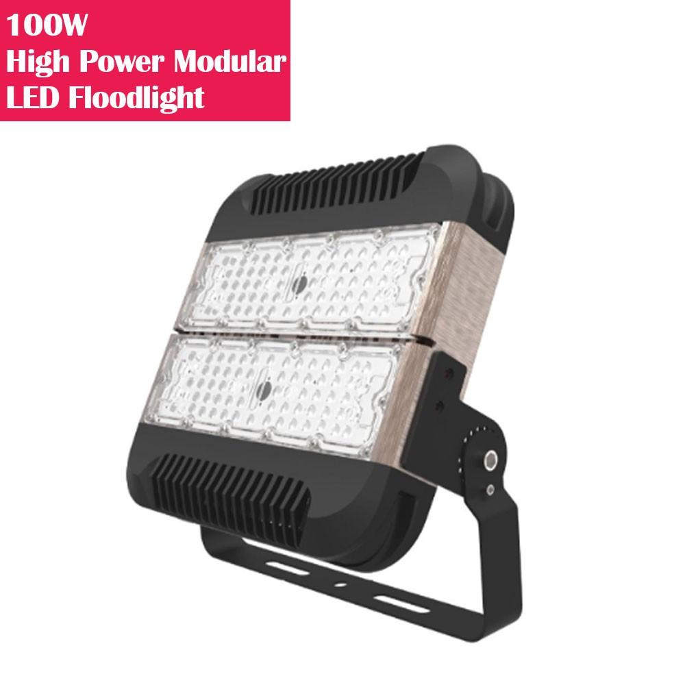 100W IP65 Waterproof High Power Modular LED Floodlight