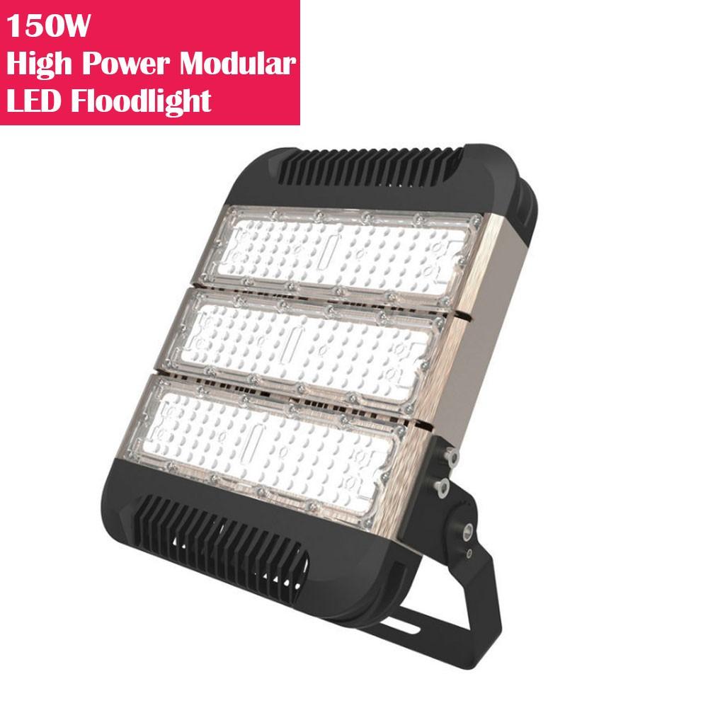 150W IP65 Waterproof High Power Modular LED Floodlight