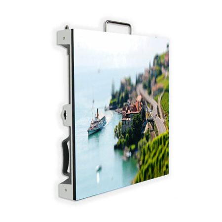 P4 Indoor LED Display Panel Die-casting Aluminum Cabinet 320*160mm 800cd/㎡ Brightness1920Hz High Refresh