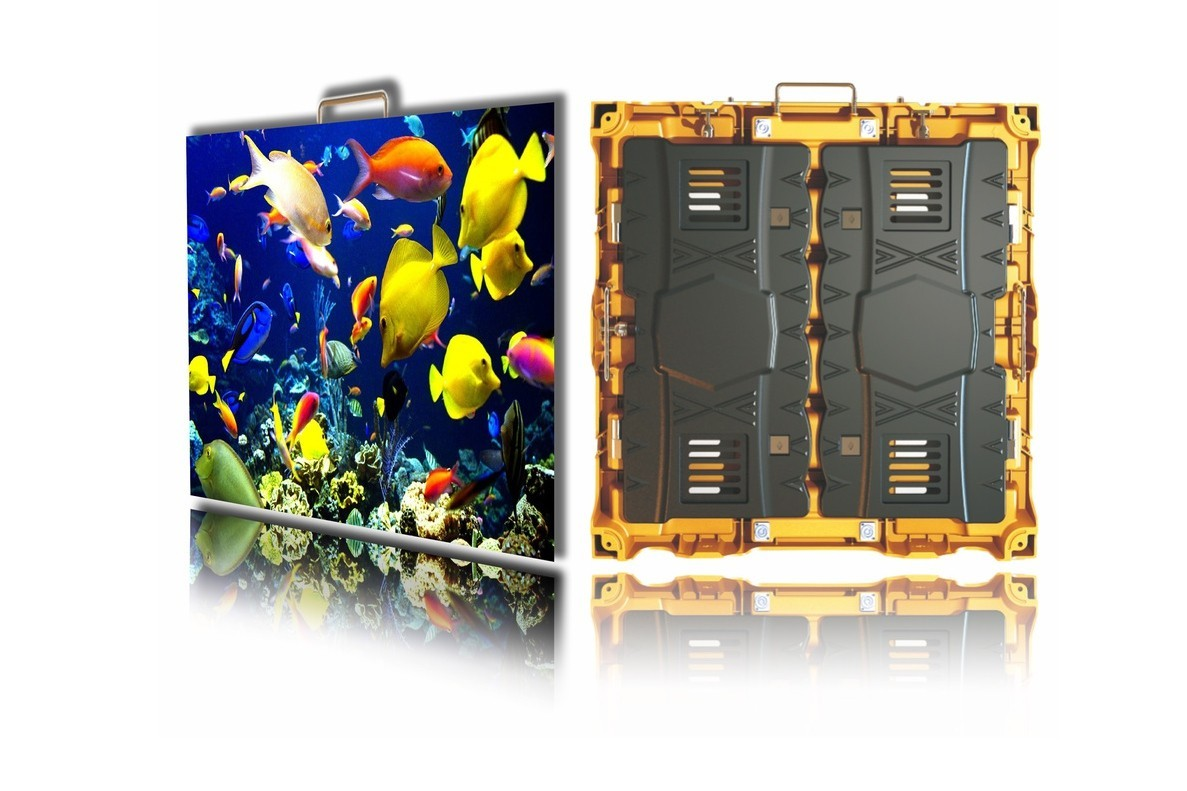 P3.9  HK Tour-AC Curved Series 500*500mm 5000cd/㎡ Outdoor Waterproof Rental LED Display