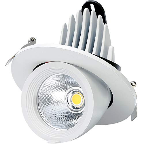 10W 3 Inch Recessed Stretchable LED Trunk Light CRI 80 750
