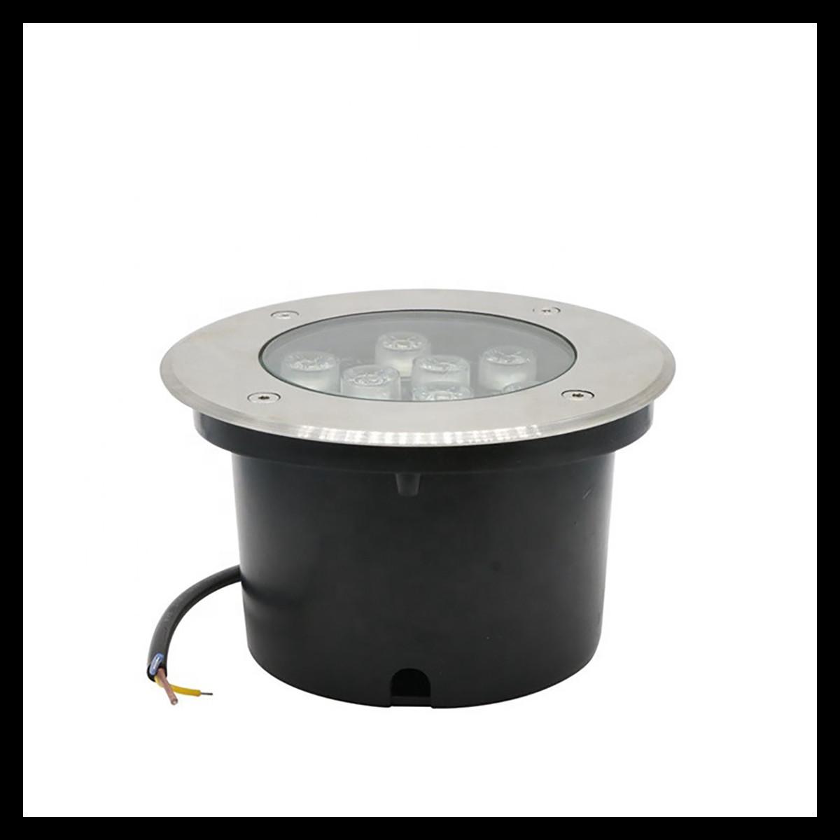 7W IP67 Waterproof 525~560 Lumens Underground Fixture Landscape Uplighting Well LED Garden Lights - 55Watt Equivalent