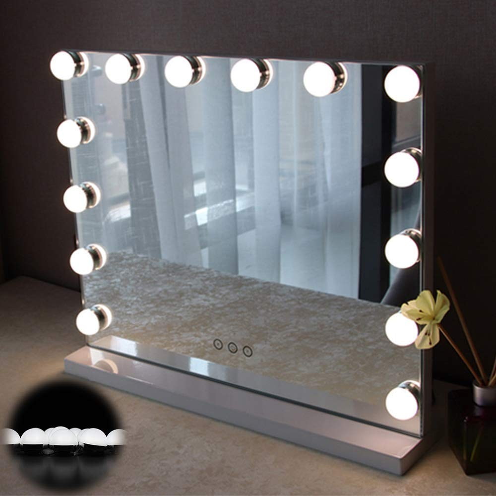 Hollywood Style Vanity Mirror Lights 10 Vanity Makeup Led