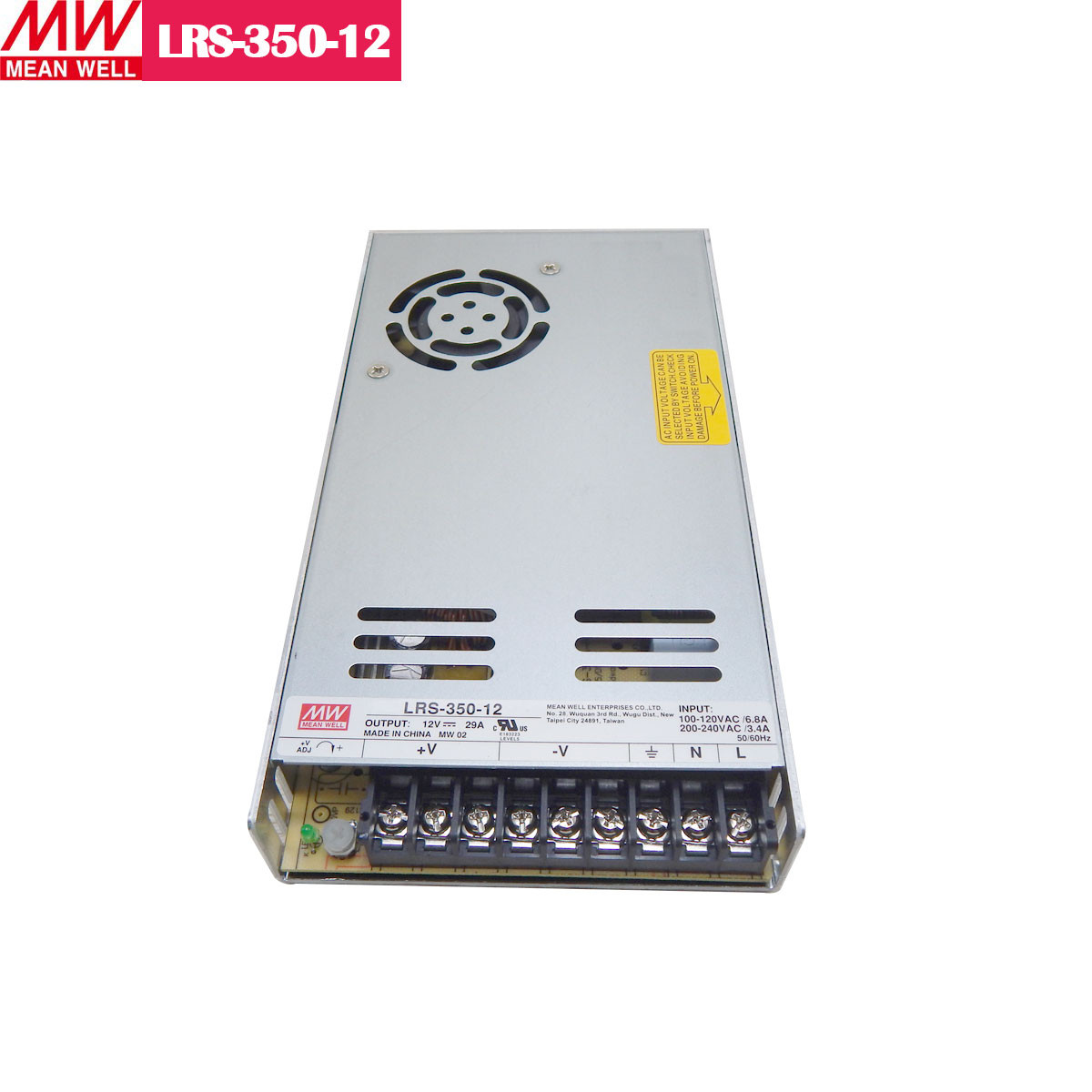 12V 29Amp 350W MEANWELL UL Certificated LRS series Switching Power Supply