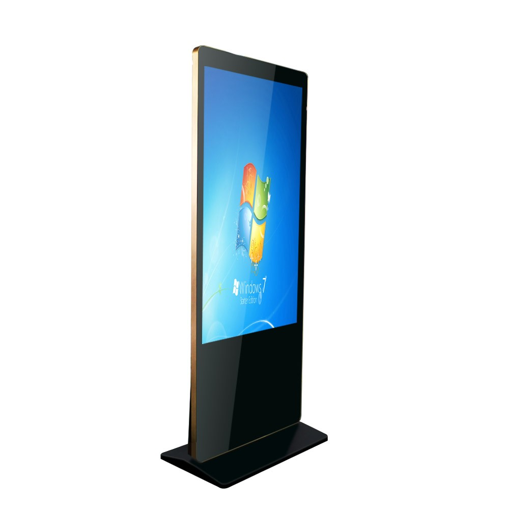 Indoor Ground Stand-up Integrated LG / Samsung Brand 43inch Active Display Area LCD Digital Advertising Signage