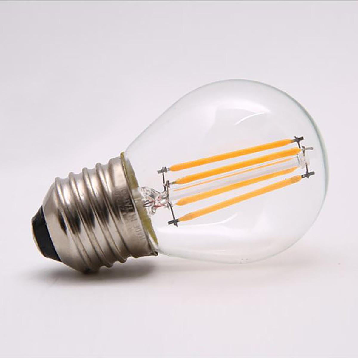 4W Filament LED Globe Light Bulb Light G45 Chandelier Bulb