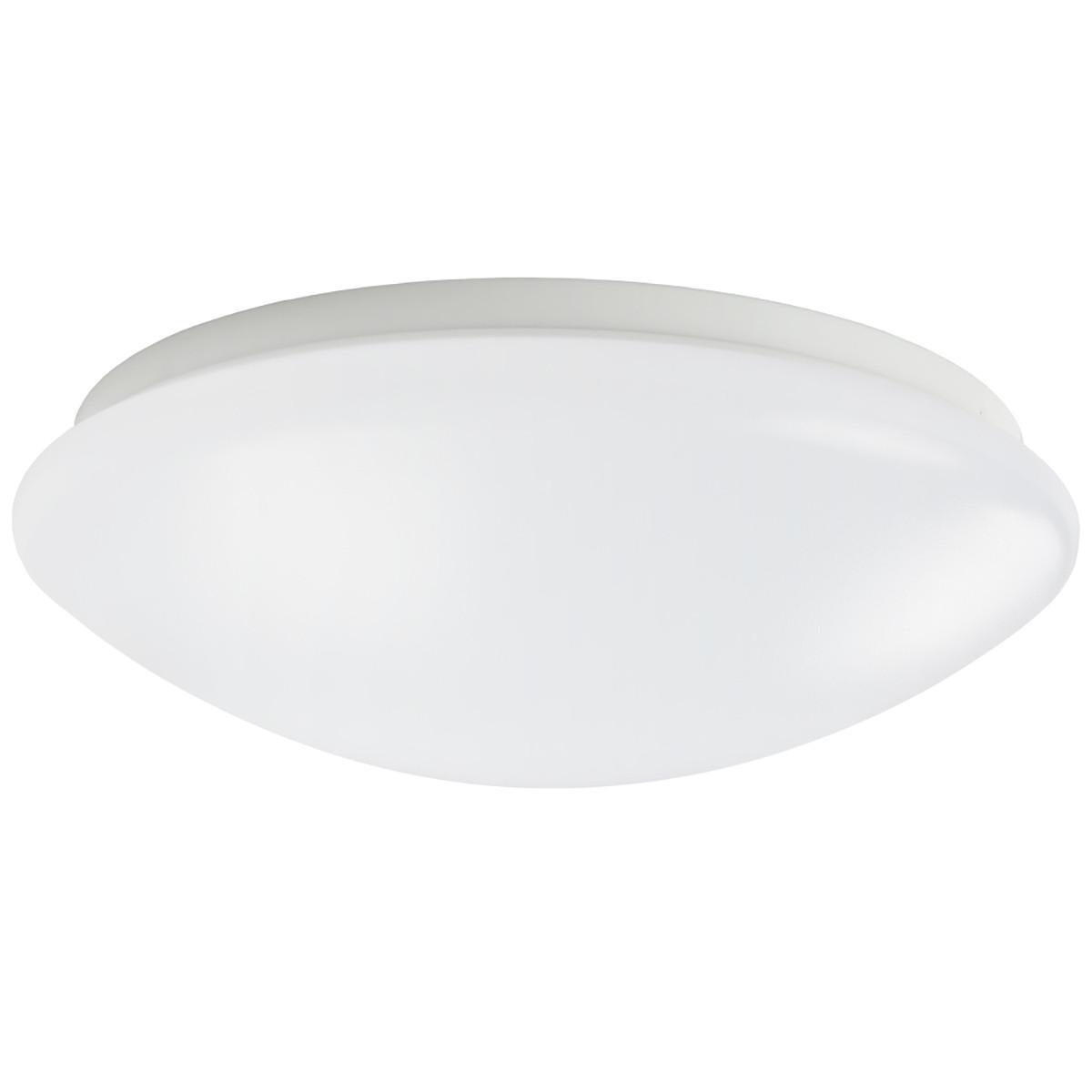 White Acrylic Led Ceiling Light Fixture Flush Mount Lamp: 12W 10.24inch Modern LED Flush Mount Ceiling Light Fixture