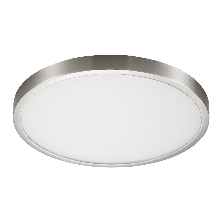 New 7 Round Led Flush Mount Ceiling Light 4000k Kitchen: 24W 15-Inch,3000K,4000k,6000K Non-dimmable Flush Mount