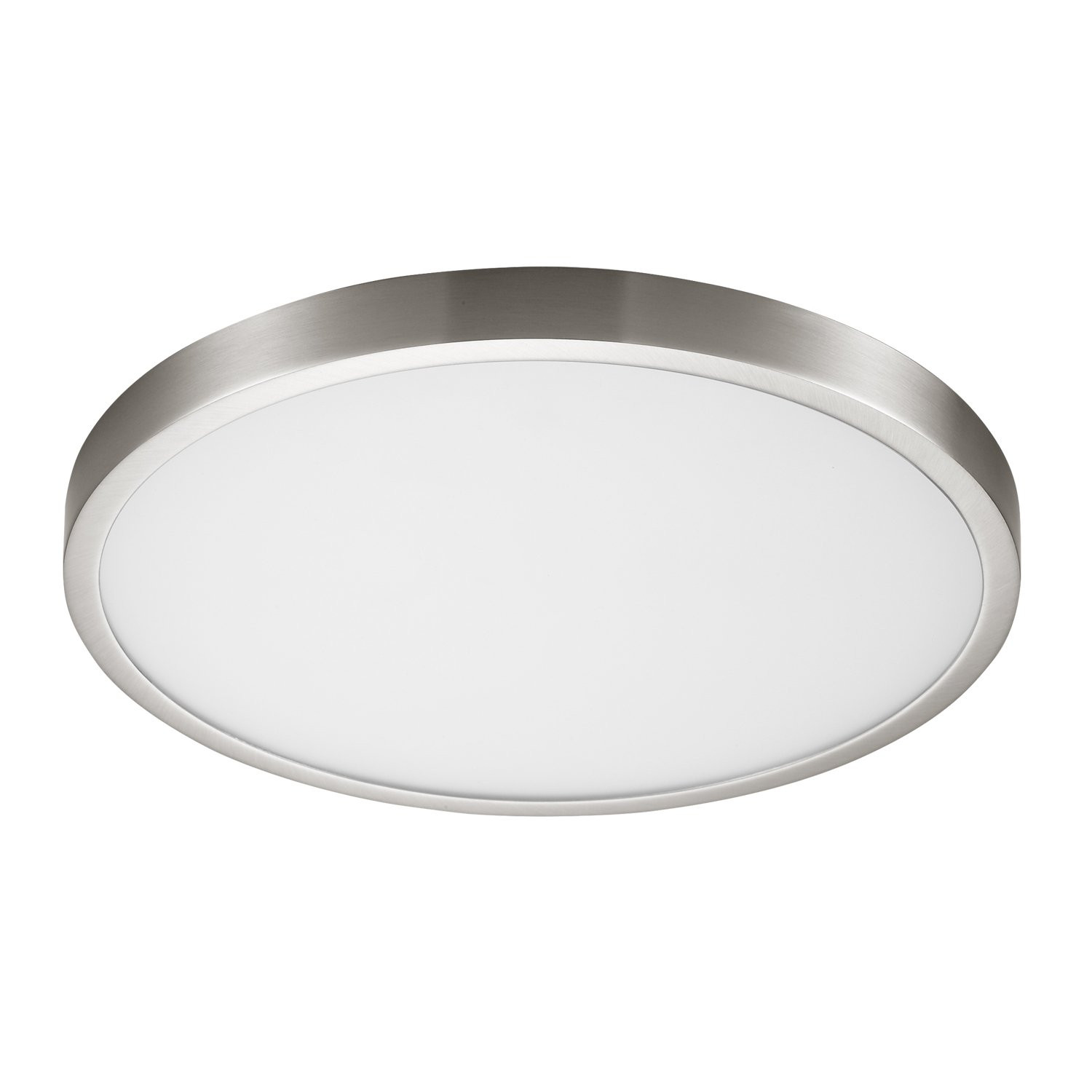 24w Led Dimmable Ceiling Light Round Flush Mounted Fixture: 6500K Dimmable LED Round Ceiling