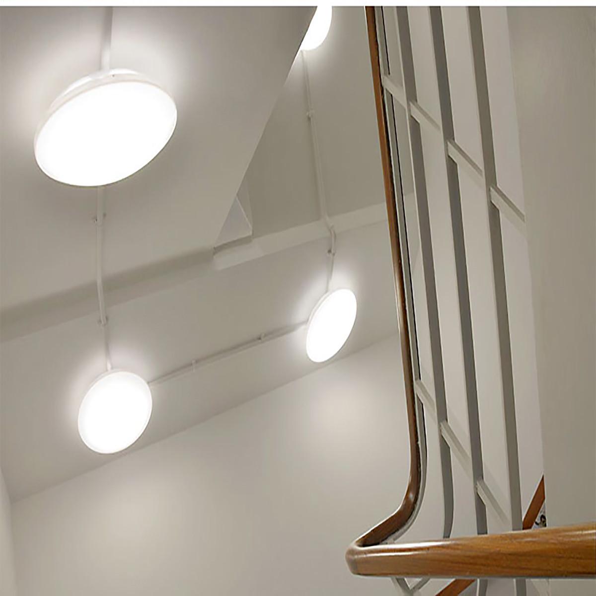 Led Light Fixture For Utility Room: 24W 14.96 Inch Modern LED Flush Mount Ceiling Light