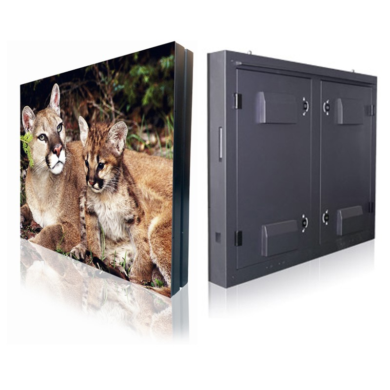 P6 960*960mm Iron cabinet Waterproof Outdoor Fixed LED Display 5000cd/㎡ brightness with 1920 Hz