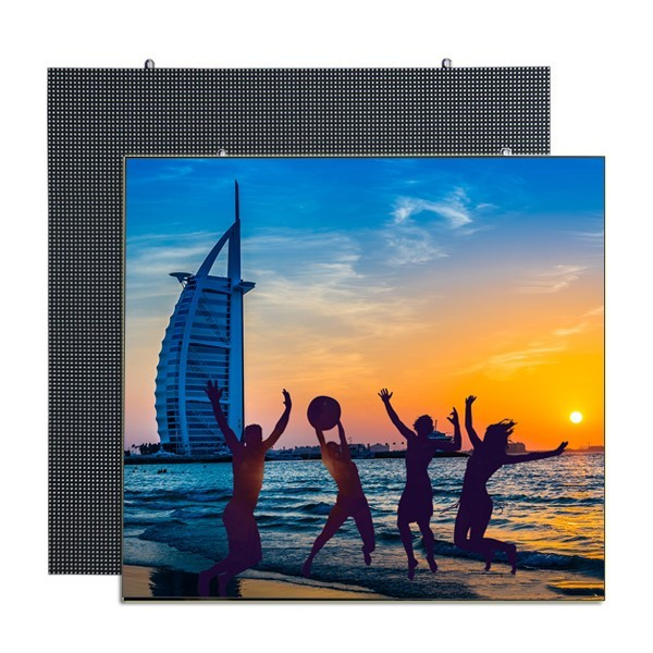 P6  Indoor LED Display Panel Iron Cabainet 192*192mm 800cd/㎡ Brightness  1920Hz High Refresh