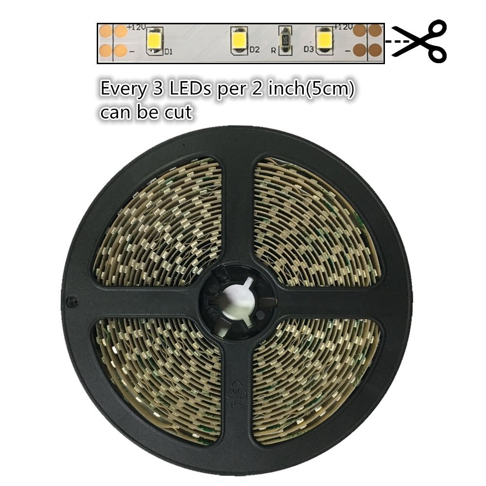 5 Meters DC12V SMD2835 Flexible LED Strips 300LEDs