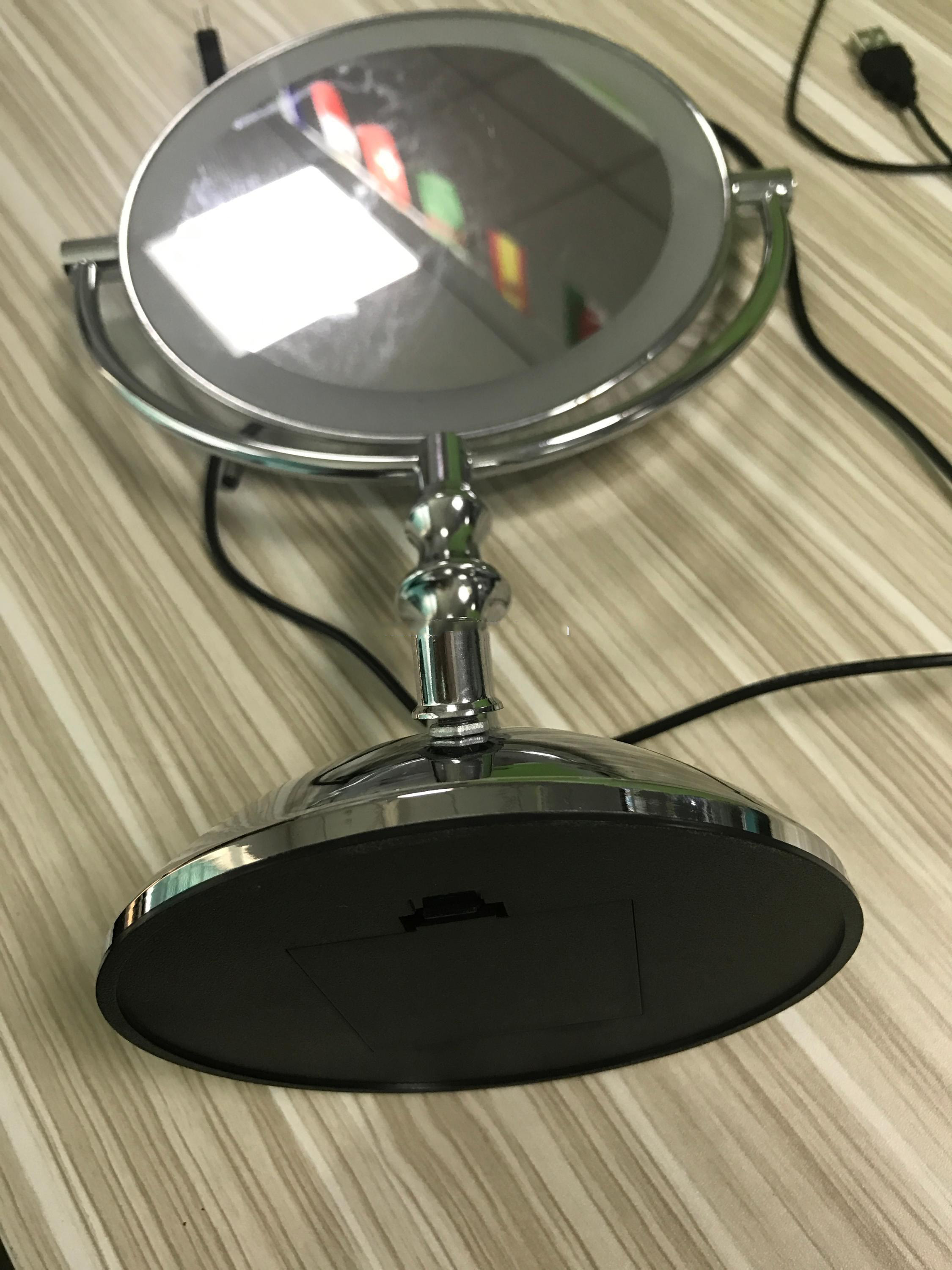Led Lights Com Led Makeup Mirror 7 5 Inch Lighted
