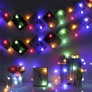LED Globe String Lights For Holiday