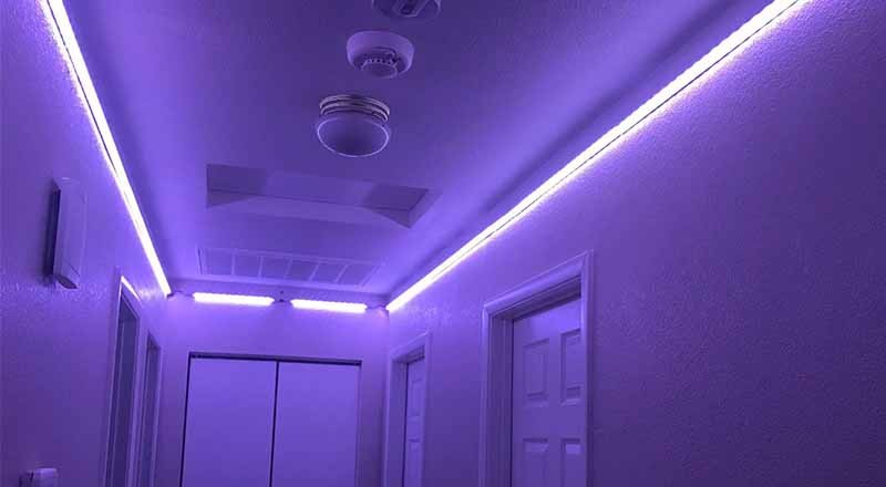 LED Aluminum Channel For Indoor Lighting