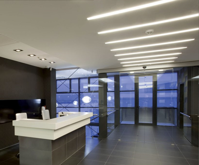 Led Tube Lights In Office Ceiling Lighting