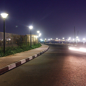 Outdoor Pole Light for Street Lighting